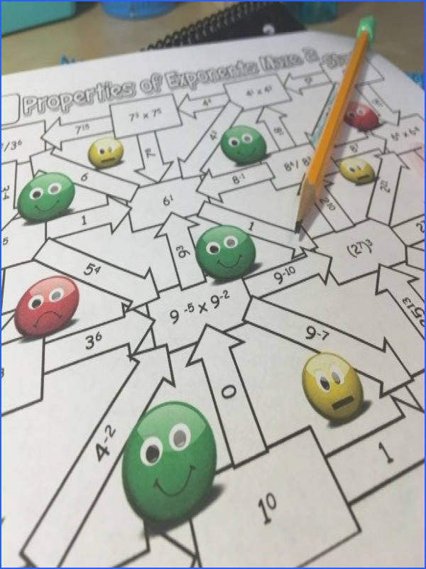 This properties of exponents maze is the perfect alternative to the traditional worksheet Find more about 10 great properties of exponents activities
