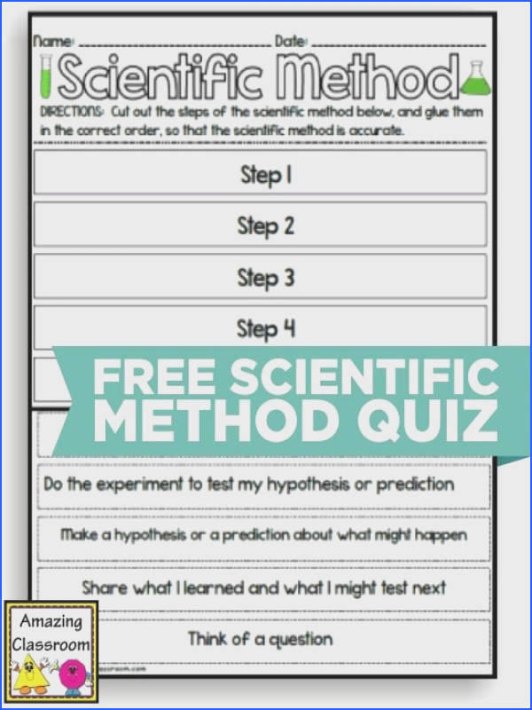 Teach Junkie 10 Scientific Method Tools to Make Teaching Science Easier Scientific Method Quiz