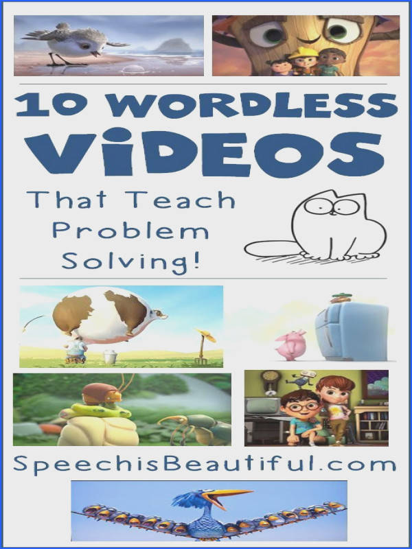 10 Wordless Videos that Teach Problem Solving Speech paths are seemingly always on the
