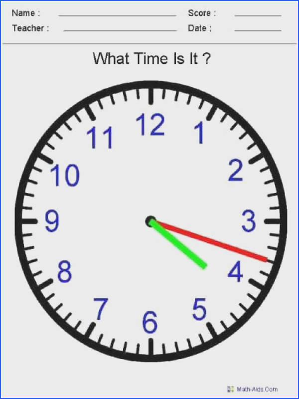 This website creates time worksheets depending on your needs