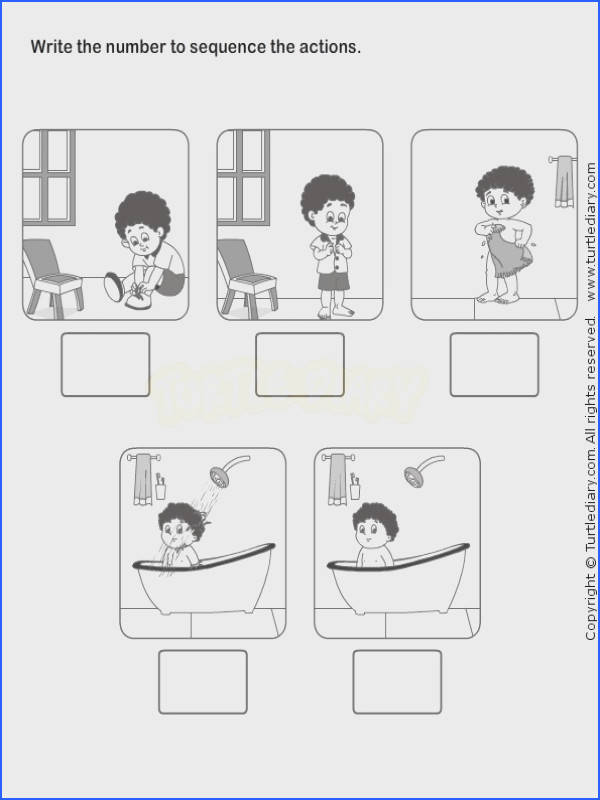 Picture Sequence Worksheet 10 esl efl Worksheets kindergarten Worksheets