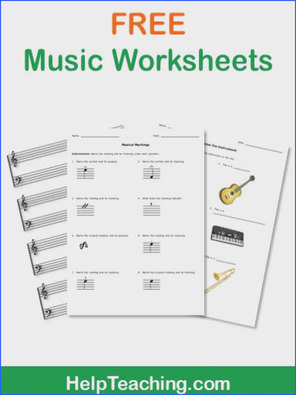 FREE Music Worksheets Celebrate Music in Our Schools Month with our free music worksheets for kids and music education classes