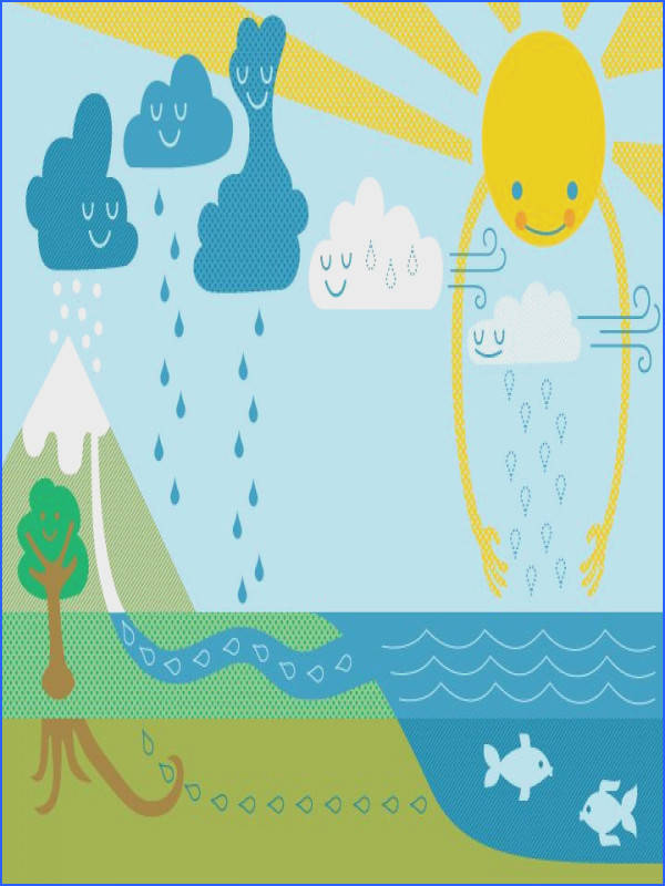 e of our favorite water cycle illustrations especially for younger students The image of
