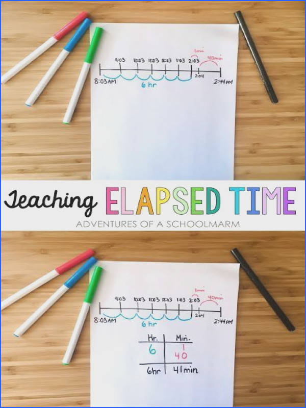 Elapsed time worksheets mychaume elapsed time is such a tricky concept to teach in a way that students understand ibookread Download