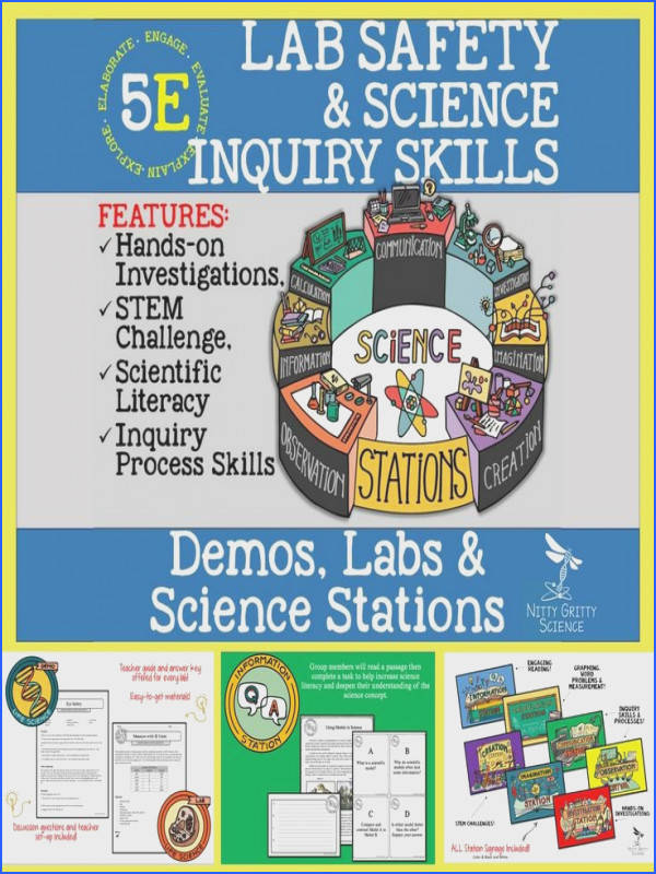LAB SAFETY AND SCIENCE INQUIRY SKILLS Demos Labs and Science Stations
