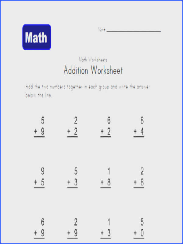 1St Grade Addition And Subtraction Worksheets Worksheets for all Download and Worksheets