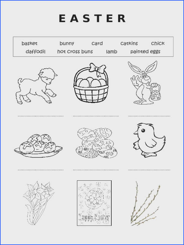 67 FREE Easter Worksheets Printables Coloring Pages & Lesson Ideas