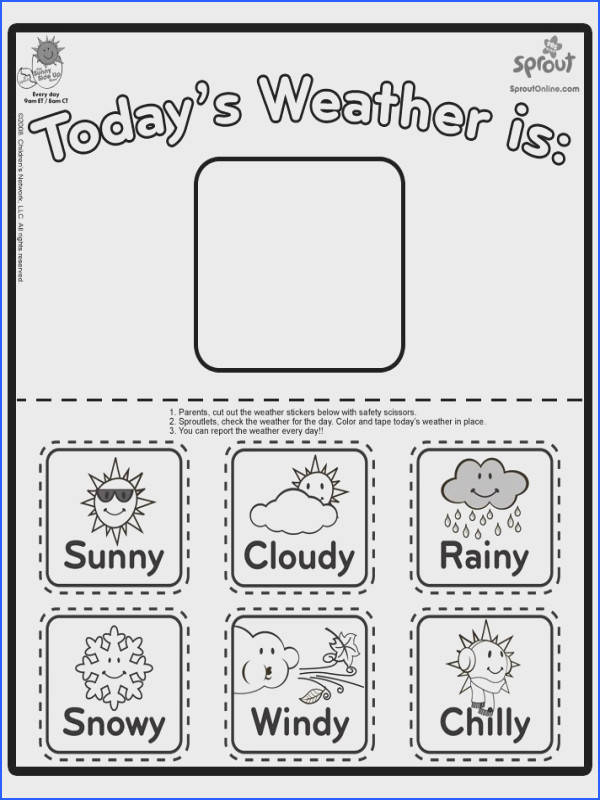 Types of Weather Coloring Pages Coloring Pages