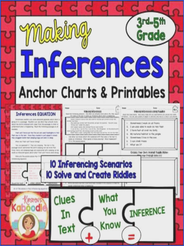 Making Inferences Passages No Prep Printable Making Inferences Worksheets