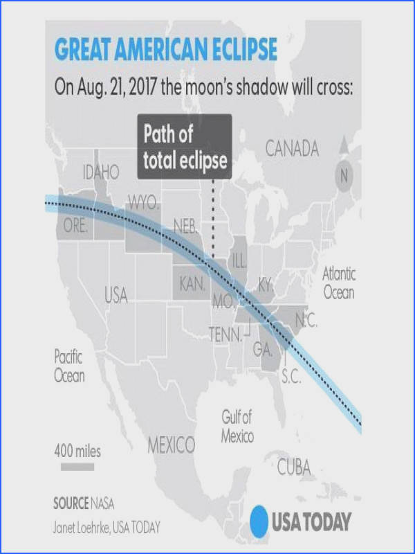 200 million people are within just one day s drive of the solar eclipse What you need to know