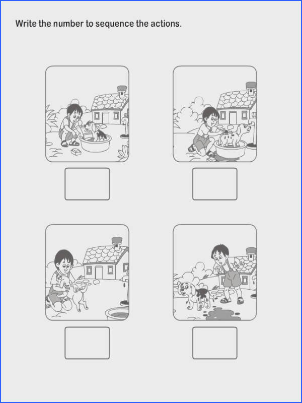 Picture Sequence Worksheet 18 esl efl Worksheets kindergarten Worksheets