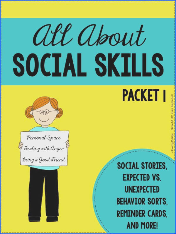 Speechy Musings A social skills product tar ing personal space dealing with anger and
