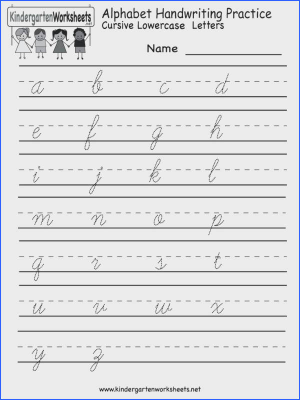 25 Best Cursive Worksheets Images On Pinterest Image Below Handwriting Worksheets for Kids