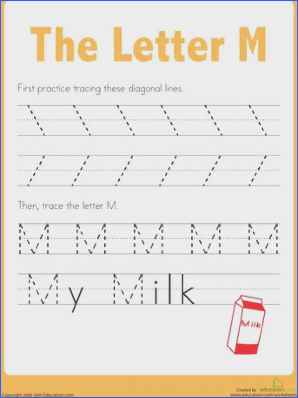 Trace the Alphabet Practice Tracing the Letter A First kids trace lines on this prekindergarten writing worksheet to strengthen the fine motor skills