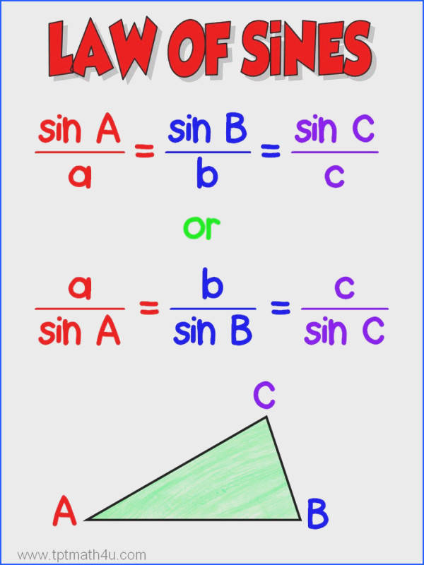 Law of Sines the fun way
