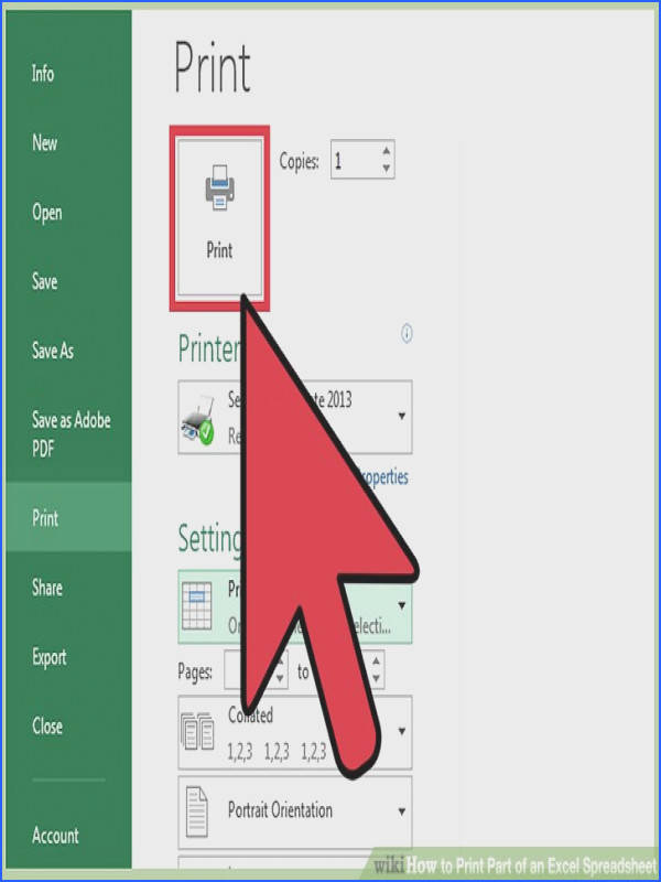 Image titled Print Part of an Excel Spreadsheet Step 18