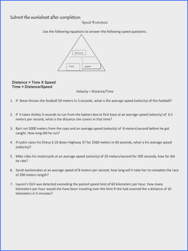 Speed Distance Time Worksheet Fresh 7th Grade English Worksheets & Free 7th Grade Worksheets 30