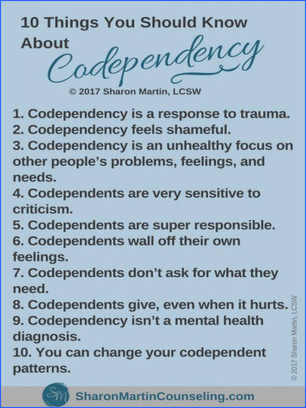 10 Things You Should Know About Codependency codependency