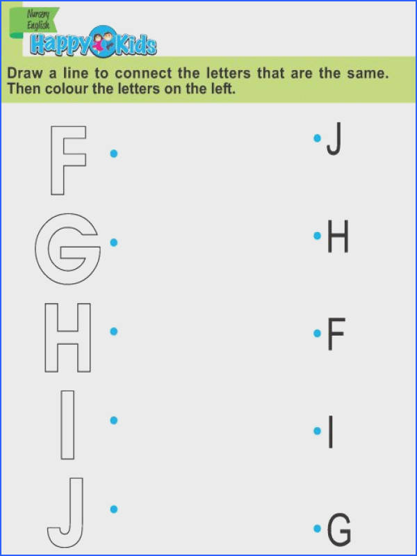 Preschool English Exercise and Activities from A to E…