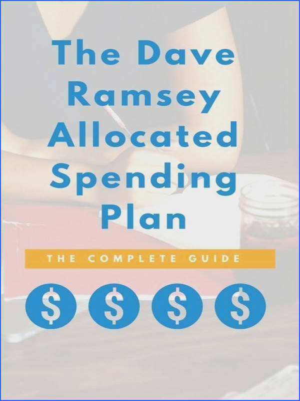 Learn how to bud using Dave Ramsey s Allocated Spending Plan Here are the 4 steps