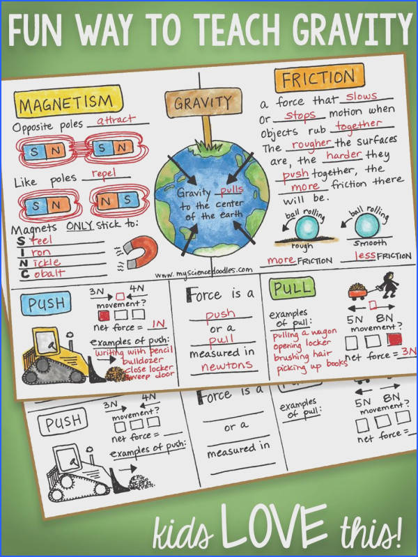 Force And Motion Worksheets Mychaume