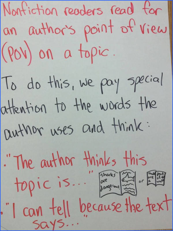 Nonfiction author s purpose author s point of view Unit 3 Nonfiction Reading