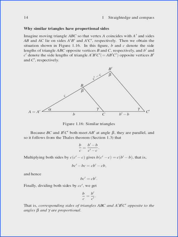 4 3 Practice Congruent Triangles Worksheet Answers Fresh the Four Pillars Geometry Undergraduate Texts In