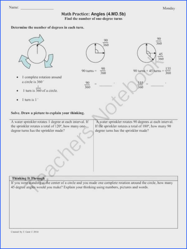 Viewing 1 20 of results for 4 md angles part 2 grade mon core math worksheets