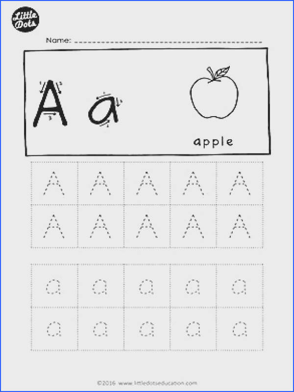 FREE alphabet tracing worksheets Download all the letters from a to z