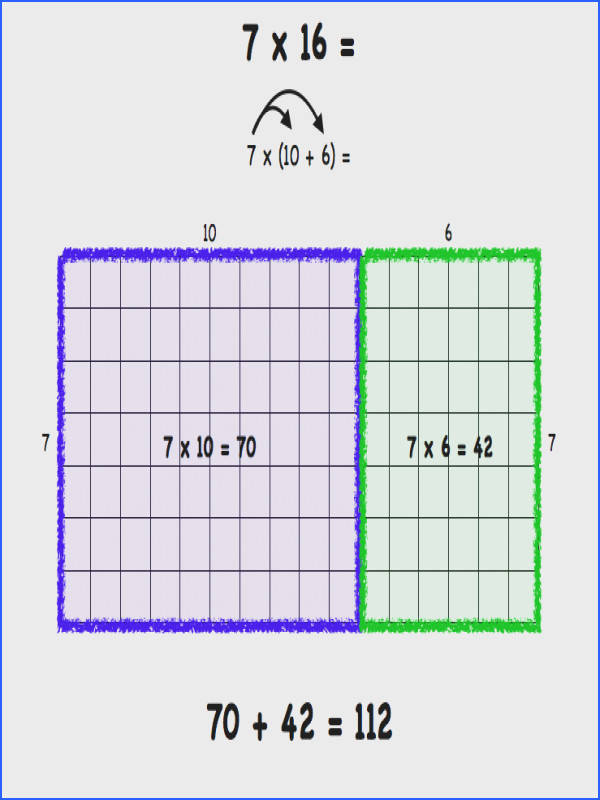 4Th Grade Area Model Examples Worksheets for all Download and Worksheets