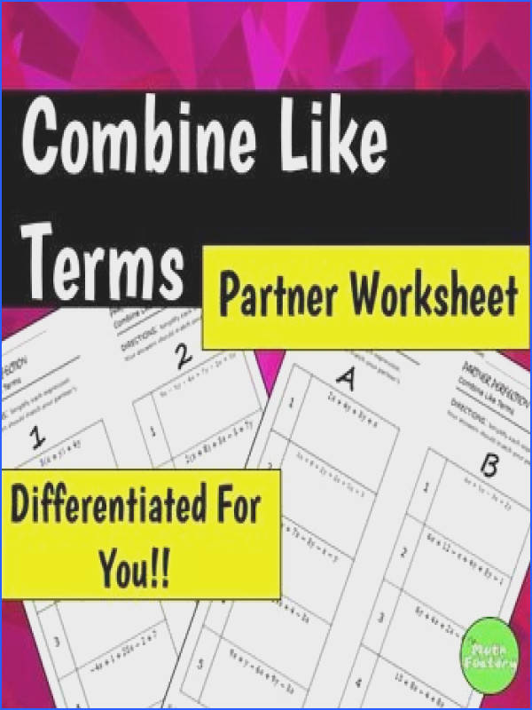 Distributive Property And Bining Like Terms Worksheet Mychaume. Distributive Property And Bining Like Terms Worksheet. Worksheet. Bining Like Terms Worksheet With Answer Key At Clickcart.co