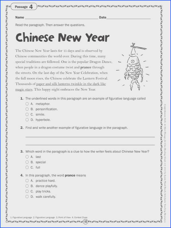 2nd Grade Writing Worksheets Mychaume. 5th Grade Writing Worksheets New Prehension Skills Gr 4 40 Short Passages For Close Reading Gallery. Fifth Grade. Fifth Grade Writing Worksheets At Clickcart.co
