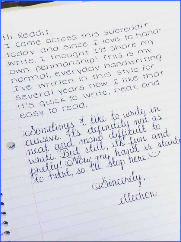 6 Easy Ways to Improve Your Handwriting