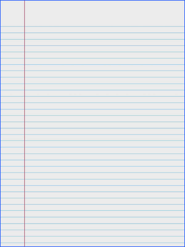 College Ruled Paper When you re in a bind and need a piece of