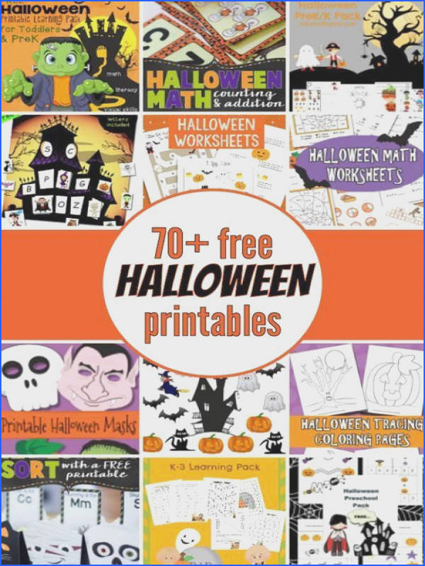 70 mostly free Halloween printables Halloween Math WorksheetsFree