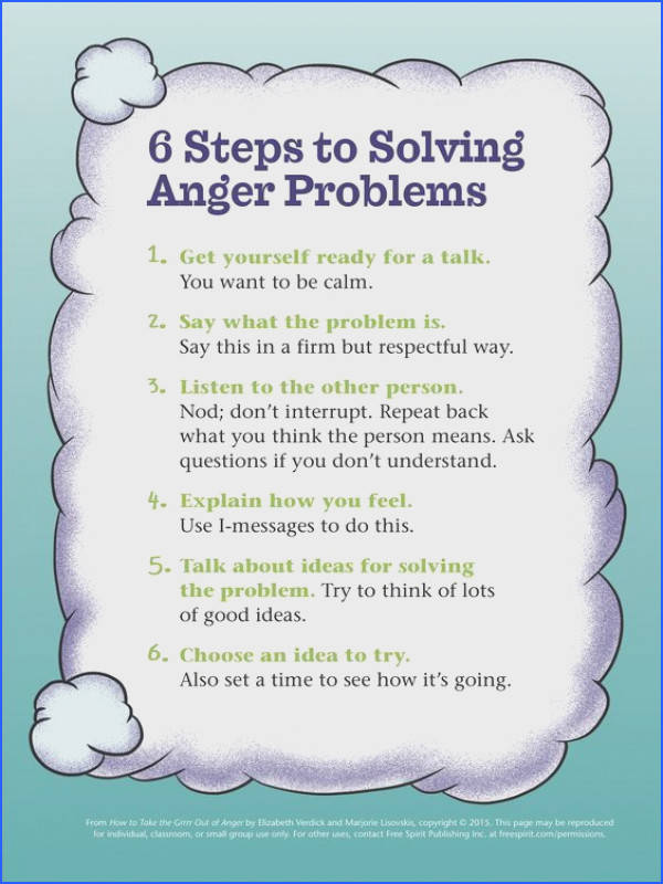 Ways to Solve Anger Problems
