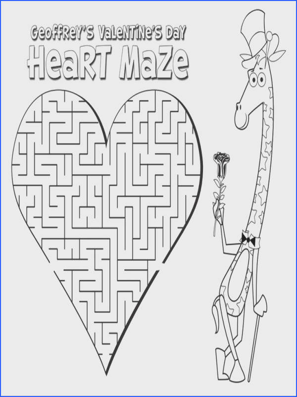 Printable Valentine s Day Activity Sheets for kids Coloring pages mazes and word search