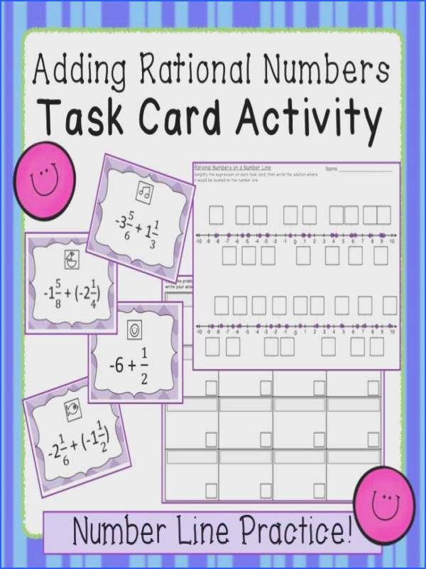 In this engaging activity students add rational numbers and locate the answers on a number
