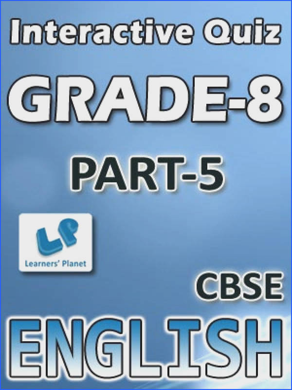 Interactive quizzes & worksheets on types & functions participles types of phrases and use question tags for CBSE English students