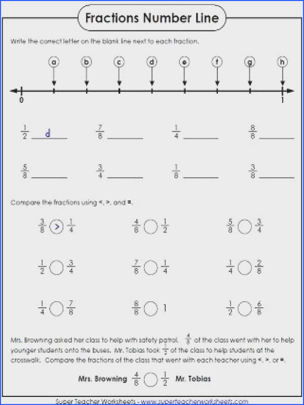 paring Fractions Worksheet