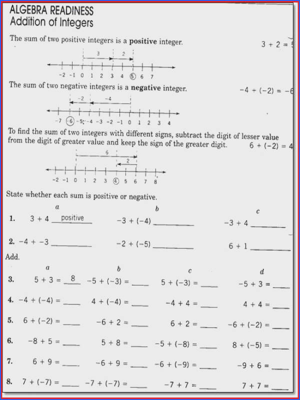 8th Grade Bible Worksheets Worksheets for All Image Below 8th Grade Math Worksheets
