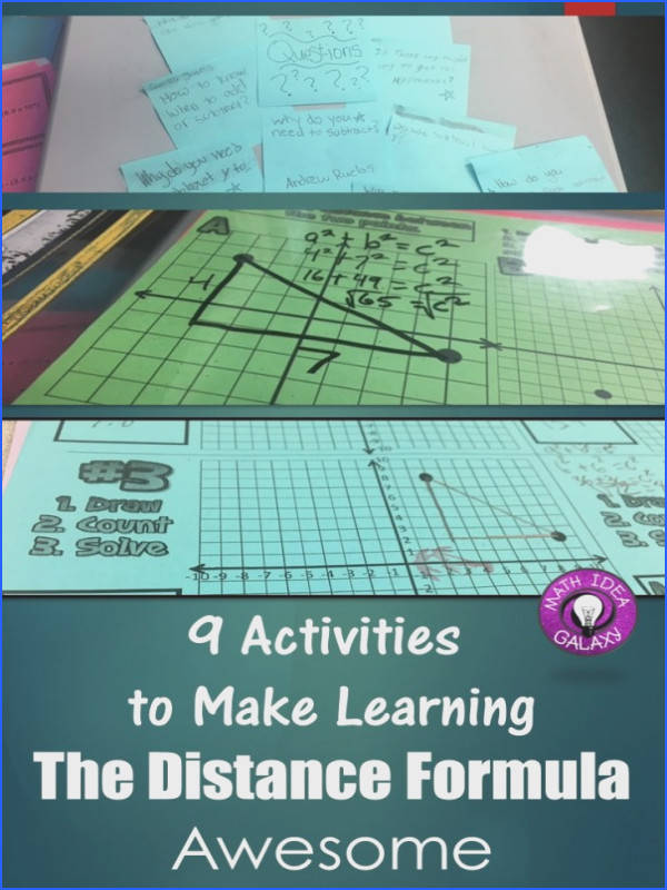 9 Ways to Make Teaching the Distance Formula Awesome