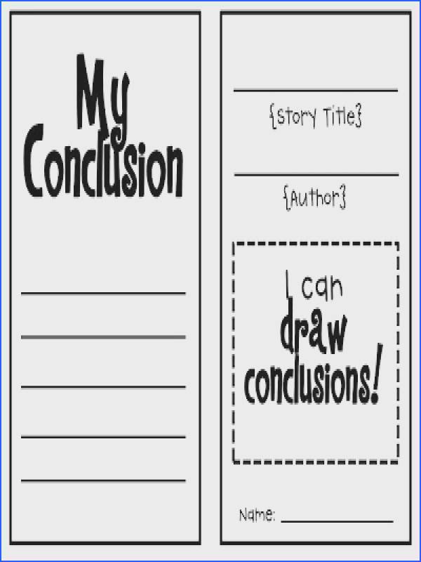 Students can use this booklet to record two facts from a story and draw a conclusion based on the facts It s a good alternative to a worksheet or workbook
