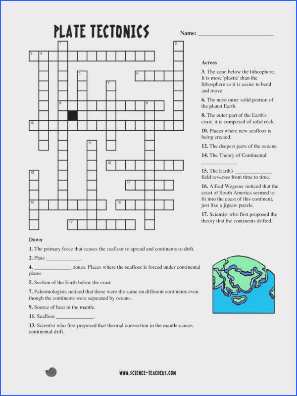 Planets Crossword Puzzle Worksheet Pics about space