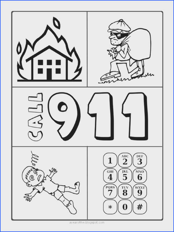 A Year of FHE Emergency Preparedness teaching kids what to do in situations