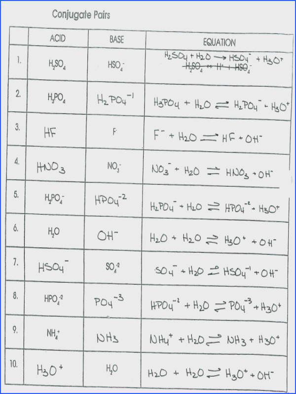 acids and bases worksheet 17 bronsted lowry acids and bases worksheet 116 an introduction ideas
