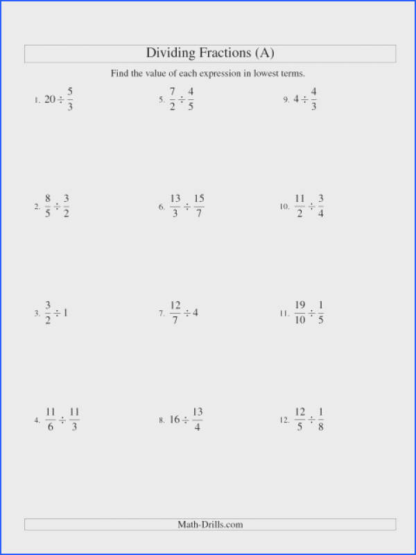 The Dividing And Simplifying Fractions With Some Whole Numbers Addingng Worksheets Algebraic Worksheet Answers Adding Subtracting