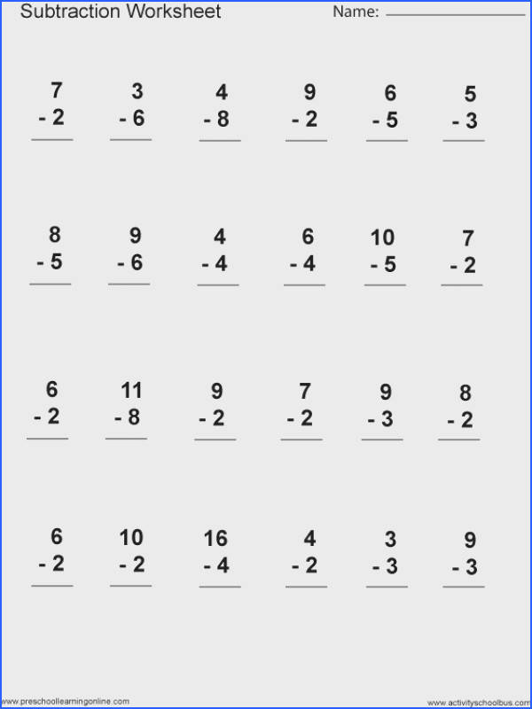 Math Practice Worksheets | Mychaume.com