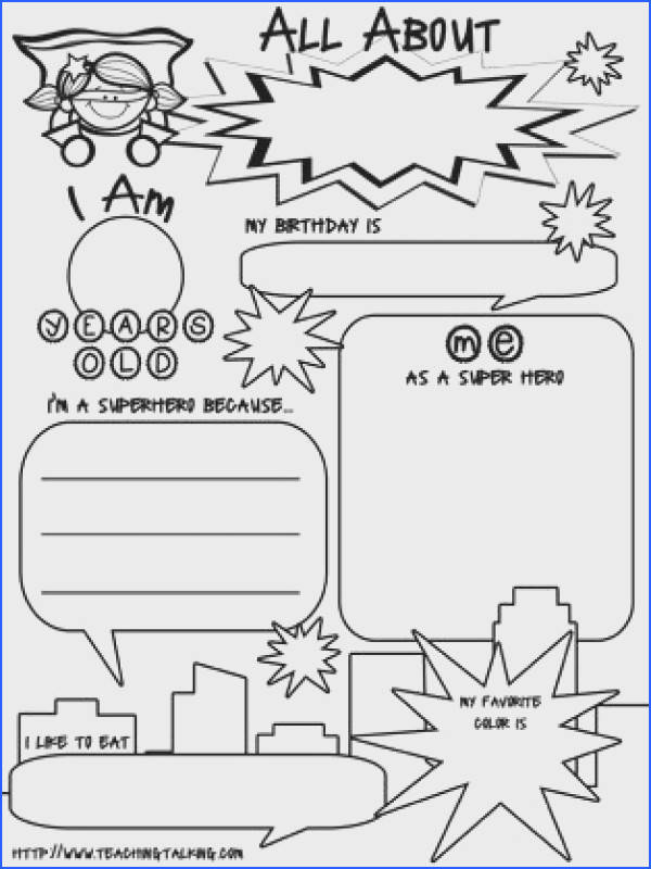 If You Could Be A Superhero Prompt Worksheet