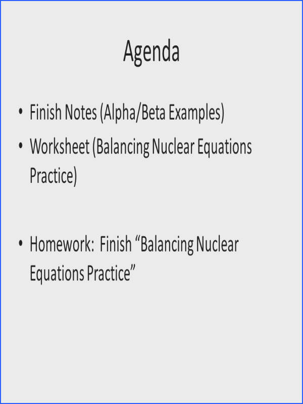 Alpha Decay Worksheet Worksheets for all Download and Worksheets